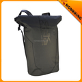 Black PVC tarpaulin High Quality Waterproof bags Travel Sports School Backpack