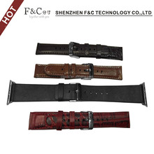 Top leather watch band,leather strap for apple watch