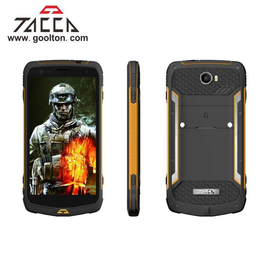 "Beijing T2 5.5"" PTT NFC FHD 3+32G 8+20Mp encrypted gps walkie talkie dual sim rugged <strong>phone</strong>"