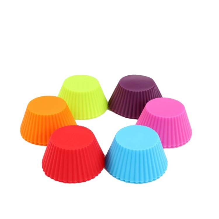 silicone baking muffin cup cupcake liners molds