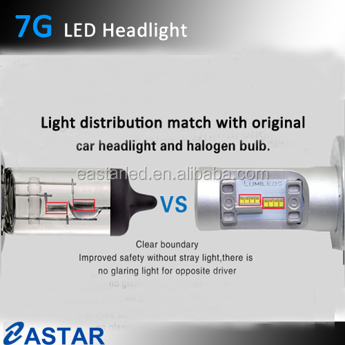 Hotsale no fan 12v car headlight bulb