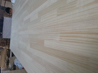 Laminated timber panels pine finger joint board