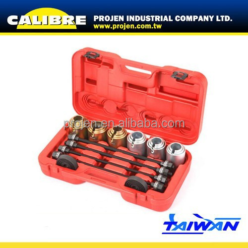 CALIBRE 26PC Universal Press And Pull Sleeve Kit Bearing Bush Remove And Install Sleeve Set Bush Bearing Removal Insertion Tool