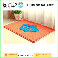 Home cleaning Custom prints PVC Door Coil Mat Coil Cushion