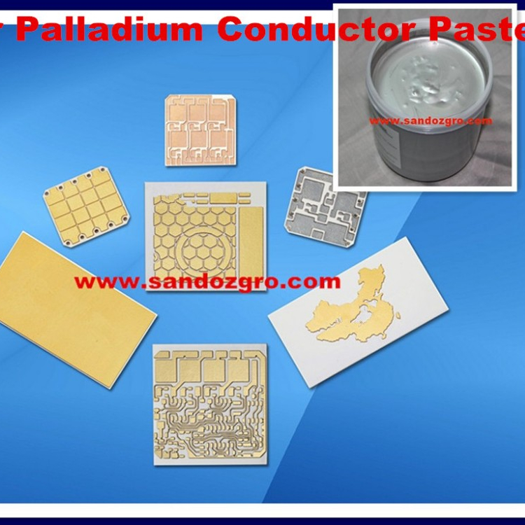 Silver Palladium Conductor Paste for aluminum nitride