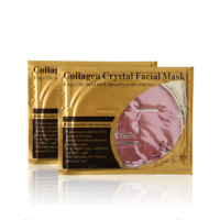 Factory Wholesale Pure Natural Herbal Face Skin Care Collagen Crystal 24K Pink Gold Facial Mask
