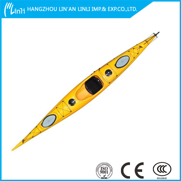 promotional cheap new single sea kayak for long touring