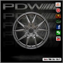 TOP 10 professional alloy rim factory since 1983,PDW brand wheel 15x6.5 aluminum wheels