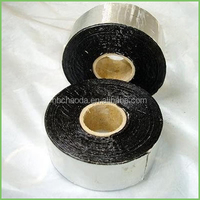 self adhesive asphalt/ bitumen waterproofing sealing tape, aluminium flashing roofing, construction building material membrane