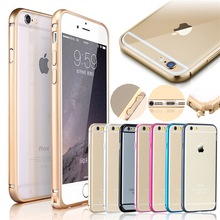 For iPhone 7 Luxury blade Metal Aluminium Alloy Bumper Frame Case