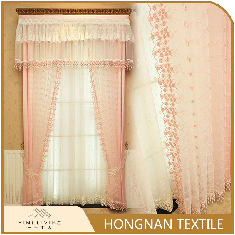 Made in China professional fancy decorative curtain fabric wholesale