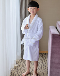 New design super soft cotton boys bathrobes, OEM bathrobe children