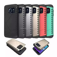 Factory Price TPU+ Hard PC Shockproof Mobile Phone Case for Samsung Galaxy S7/S7Edge