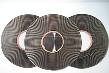High voltage self-fusing butyl rubber tape