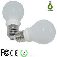 360 degree 5w led bulb in China Shenzhen passed CE ROHS ceramic unique designed smd E27 led bulb