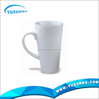 square handle coffee mug plain ceramic coffee mugs