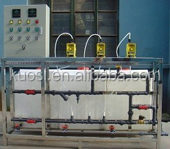 acid-base neutralization circulation water chemical chlorine dosing system
