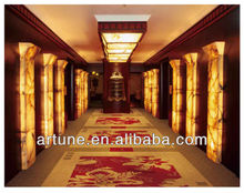 High-end axminster hallway carpet for hotel usage