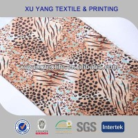 Fashion animal foil print fabric for leggings