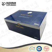 Suzuran Lilybell Skin protect cotton puff 5cmx6cm 138gsm super handy sized