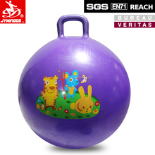 38cm / 45cm / 50cm / 55cm / 60cm / 70cm Sport Toys Kids Inflatable PVC Space Hopper Jumping Ball