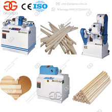 High Productivity Smooth Surface Automatic Wooden Round Rod Stick Polishing Machine Wood Sanding Machine