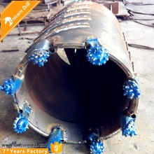 Unicorn Drill drilling bucket core barrel with roller bit for piling industry