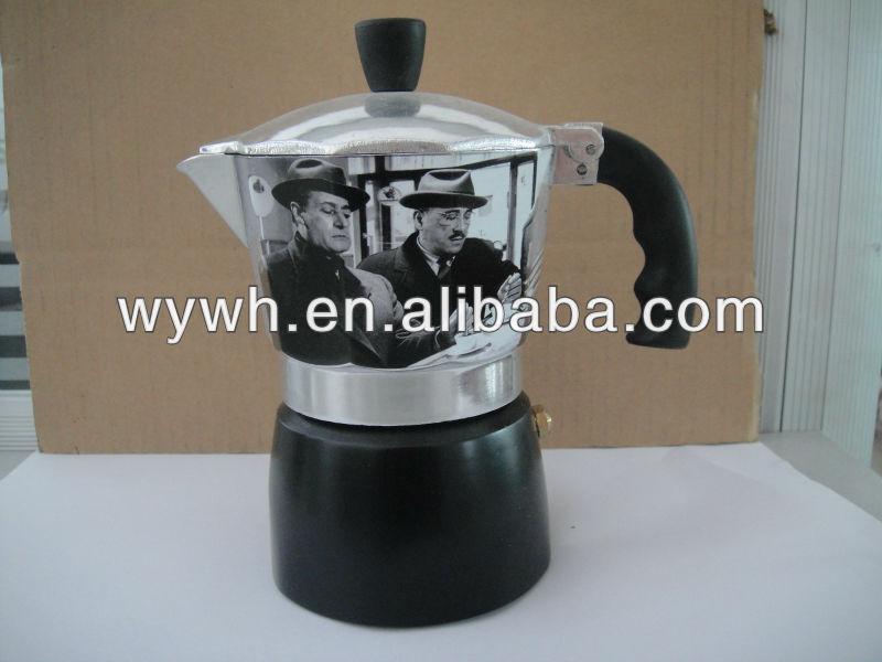 Italian Style Coffee Maker,Vintage Style - Buy Coffee Maker,Press Coffee Maker,Travel Coffee ...