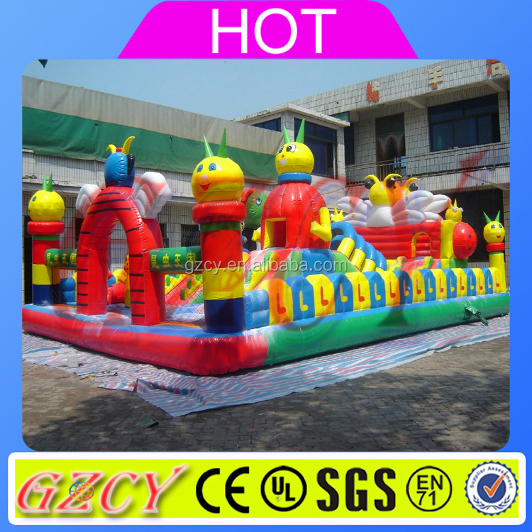 Giant Inflatable Playgrounds / Inflatable Amusement / Amusement Park For Wholesales
