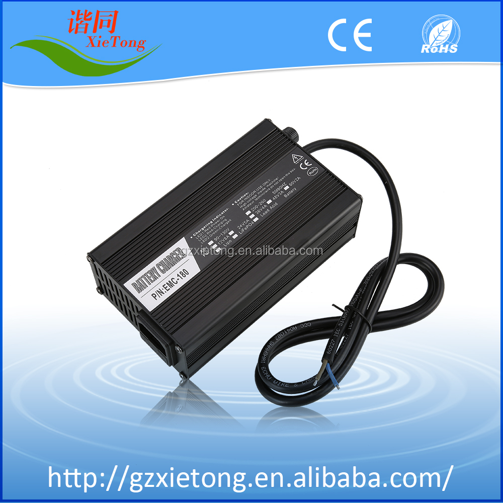 Fast battery charger 12.6v 8A li-ion battery charger