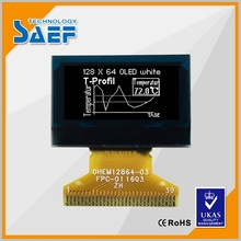 "small screen 128X64 dot 0.96"" oled lcd display 30pin connector"