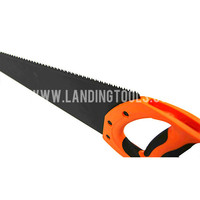 Ergonomic Rubber Grip Hand Saw with Different Teeth Space
