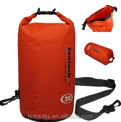 pvc tarpaulin luggage bag waterproof