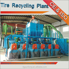 Chinese rubber recycling machine Scrap Tire Size Reduction System (FCC-20000-1-P)