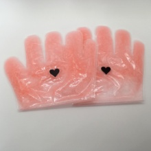Nail salon exfoliating disposable hand socks mask foot glove with paraffin