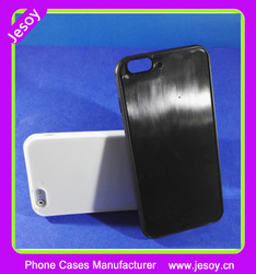JESOY Groove Silicon case For iphone6s 6splus Smartcover Phone Case PC TPU Bumper Custom Printing