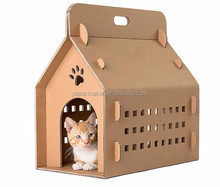 Wholesale OEM pet favor paper house for cat