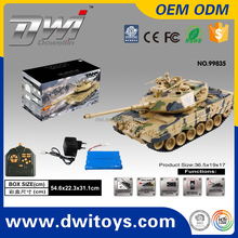DWI Dowellin 1:18 Scale Remote Control RC Tank Tracks VS Henglong