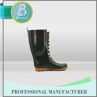 High quality Low price Rubber Waterproof cowboy boots india