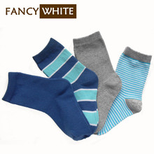 Yiwu supplies wholesale toe seamless striped calcetines cotton socks