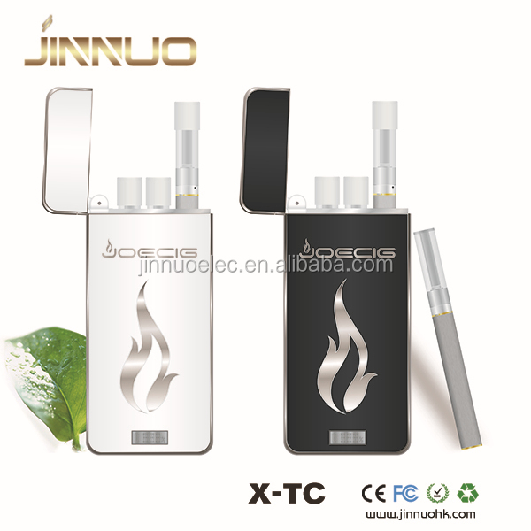 In stock!!! Best ecig market attract more customers X-TC refillble atomizer rechargeable cig kits