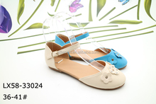 China factory wholesale high quality fashion women flat shoes, ladies flat shoes