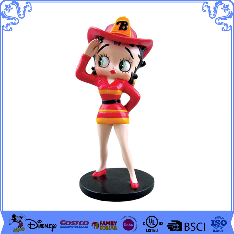 Customized Resin Betty Boop Adult Figurines