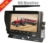 720P Wireless Camera Monitor System with Built in 2 CH 2.4GHz Digital Wireless Receiver for Car, Bus and Truck
