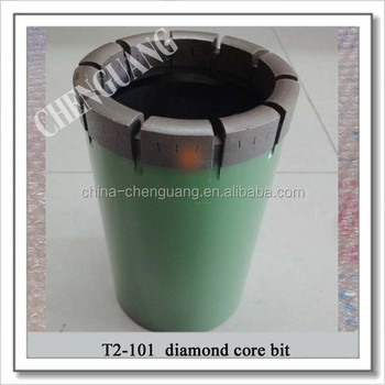 T2-46 T2-56 T2-66 T2-76 T2-86 T2-101 Diamond core bit international standard