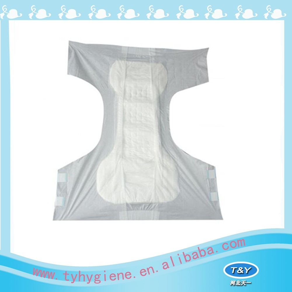 Personal care product adult diaper for old man in nursing house