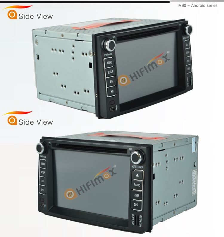 HIFIMAX Android 5.1.1car dvd player for Kia picanto,morning,euro star(2007-2011) WITH Capacitive screen