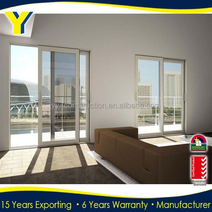 Electric blinds window with blinds inside double glazed sliding window for German motor hardware