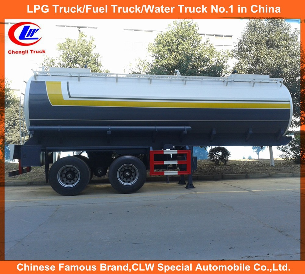 25CBM Chemical Truck 2 Axle Chemical Tanker Trailer