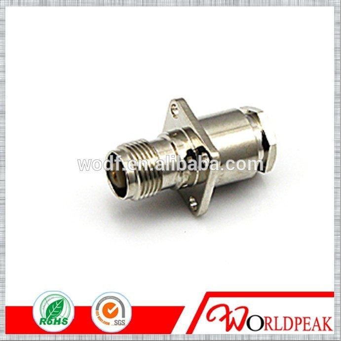 TNC female flange 7D-FB cable connector male and female flange